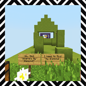 Cloud Challenges. Map for MCPE icon