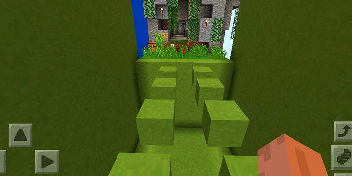 Cloud Challenges. Map for MCPE apk screenshot