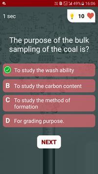 Mining Engineering Quiz screenshot 4