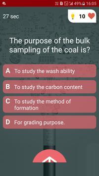 Mining Engineering Quiz screenshot 3
