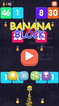 Snake vs Block: Banana Edition poster