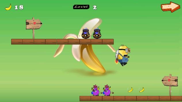 minio banana rush poster