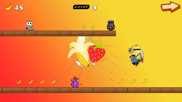 minio banana rush screenshot 1