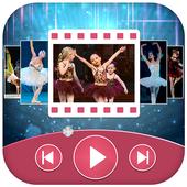 Dance Photo Video Maker icon