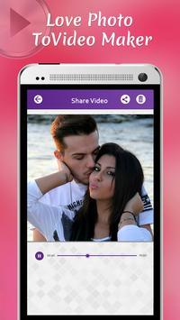 Love Photo To Video Maker screenshot 3