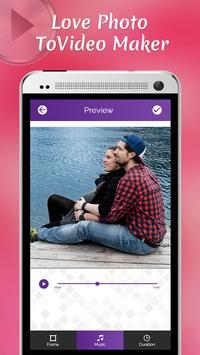 Love Photo To Video Maker screenshot 2
