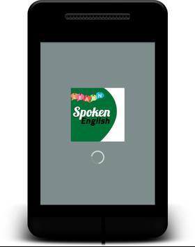Spoken English poster