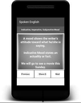 Spoken English apk screenshot