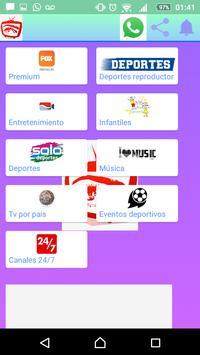 Miranda tv captura de pantalla 3