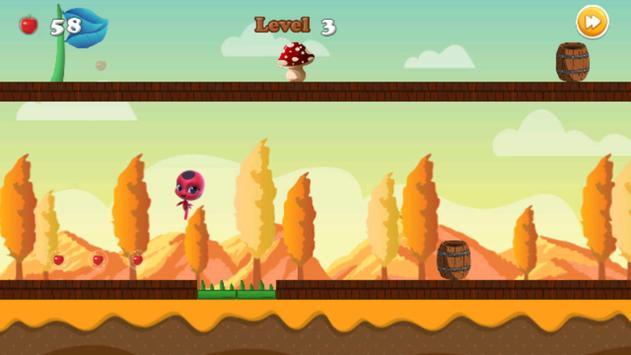 Miraclous Lady bug Adventures - Go Go Edition apk screenshot