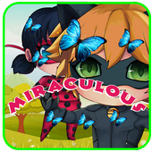 Miraculous black cat  adventur icon