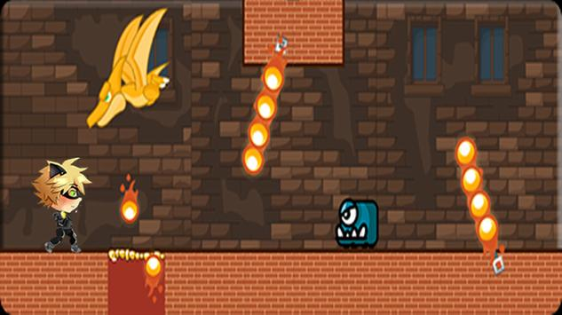 Miraculous black cat  adventur apk screenshot