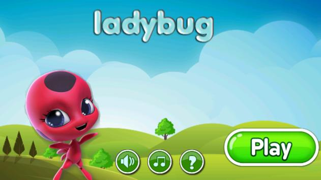 Miraclous Lady bug Surfer - Go Edition poster