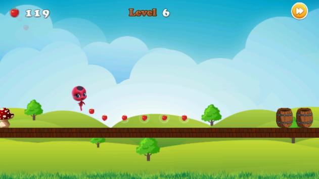 Miraclous Lady bug Surfer - Go Edition screenshot 5