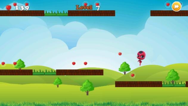 Miraclous Lady bug Surfer - Go Edition screenshot 7