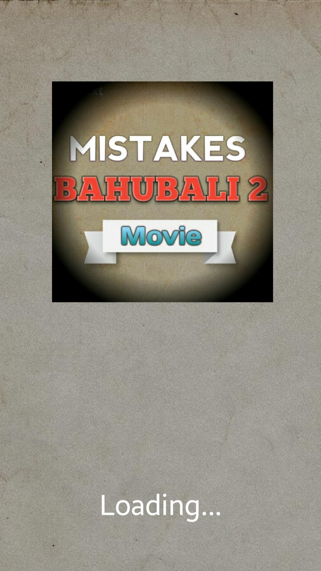 Mistakes of Bahubali 2 - Movie for Android - APK Download