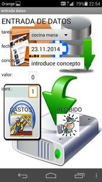 control de tareas apk screenshot
