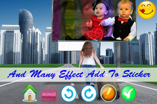 Hoarding Photo Frame apk screenshot