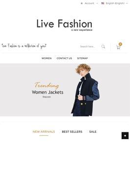 LiveFashion.ch screenshot 3