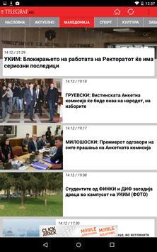 Telegraf.mk најнови вести apk screenshot