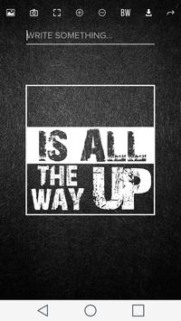 All The Way Up Meme Maker poster