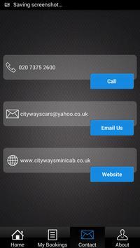 Cityways Minicab screenshot 6