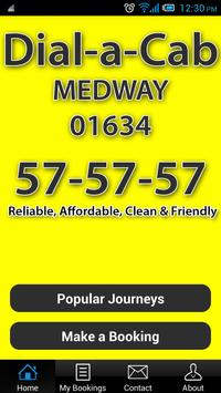 Dial-a-Cab MEDWAY poster