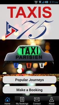 TAXIS 75 poster
