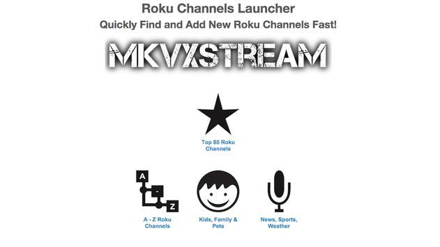 Roku Channels Launcher apk screenshot