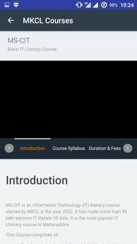 MKCL Learner apk screenshot