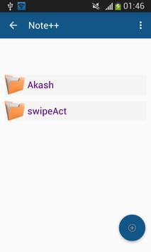 NotePlus apk screenshot