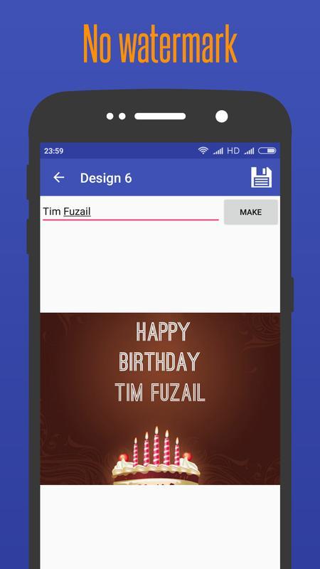 Easy Birthday Card Maker Screenshot 3