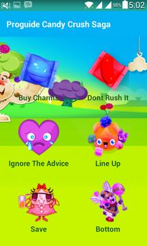 Proguide Candy Crush Saga 2016 apk screenshot