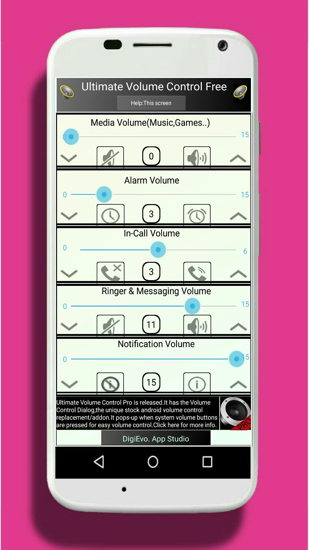 Ultimate Volume Control Free for Android - APK Download
