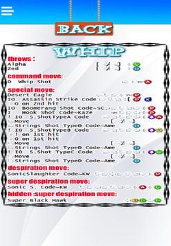 Guide for kof 2002 magic screenshot 6