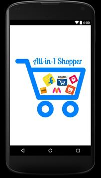 All-in-1 Shopper - Online Shopping in India poster