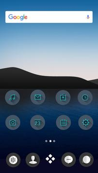 M Theme - Dark Green Icon Pack poster