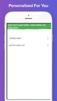 mp3 mp4 Cutter Editor  Video Maker, No Watermark  for