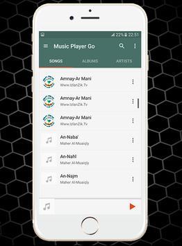 Music Player Go apk screenshot