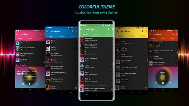 Juice player – music player screenshot 1