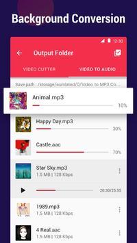 Video to MP3 Converter - MP3 cutter, video cutter screenshot 6