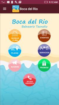 BOCA DEL RIO TACNA poster