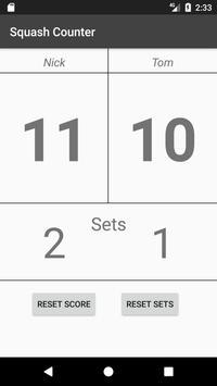 Squash Counter apk screenshot