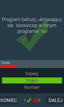 Quiz Informatyka apk screenshot