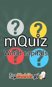 World Capitals and Cities Quiz poster