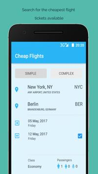 Cheap Flights Airline Booking poster
