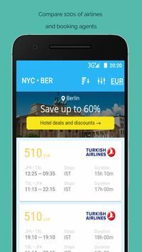 Cheap Flights Airline Booking screenshot 1