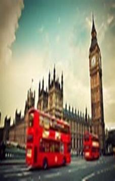 London Photo Wallpaper Clock screenshot 3