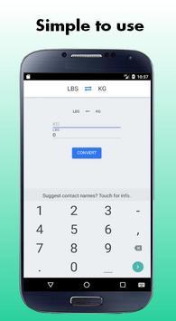 Lbs to Kg Converter (Kg to Lbs) screenshot 1