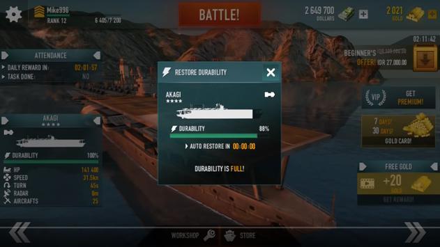 Guide For Battle Warship screenshot 2